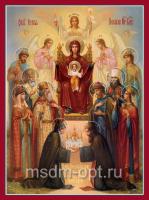 Похвала Пресвятой Богородицы икона Божией Матери (арт.00380)