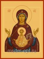 Знамение икона Божией Матери (арт.00382)
