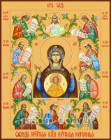 Знамение икона Божией Матери. Курско-Коренная (арт.00387)