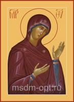 Деисусная икона Божией Матери (арт.00391)