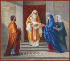 Сретение Господне, икона (арт.04010)