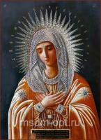 Умиление Пресвятой Богородицы, икона (арт.04267)