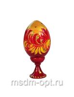 Яйцо расписное на подставке (арт.36751)