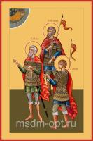 Тарах, Пров и Андроник мученики, икона (арт.04511)