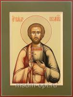 Святой мученик Павел Кесарийский, икона (арт.04552)
