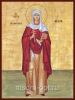 Равноапостольная Фекла Иконийская, Селевкийская, первомученица, икона (арт.04565-2с)