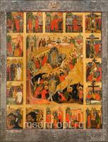 Воскресение Господне, икона (арт.04663)