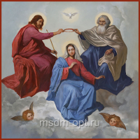 Коронование Пресвятой Богородицы (арт.04688)