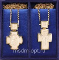 Крест и Панагия. Двойник (арт.34504)