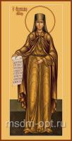 Святая преподобная Аполлинария, икона (арт.04716)