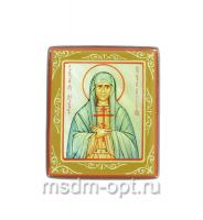 Пелагия Тарсийская дева мученица, икона. Миниатюра на перламутре (арт.38935)