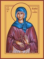Аглаида Римская, Святая праведная, икона (арт.04845)