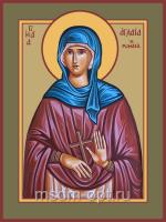 Аглаида Римская, Святая праведная, икона (арт.04845 с-2)