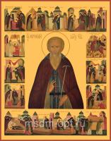 Святой преподобный Корнилий Александровский, икона (арт.04848)