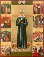 Матрона Московская блаженная, икона (арт.04870)