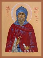 Моисей Угрин (венгр), Преподобный, Печерский, икона (арт.4872)