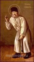Серафим Саровский преподобный чудотворец, икона (арт.04875)