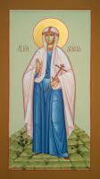 Агафия мученица, писаная икона