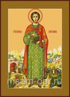 Пантелеимон великомученик и целитель, икона (арт.00574)