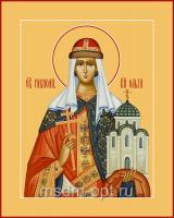 Ольга равноапостольная великая княгиня, икона (арт.06085)