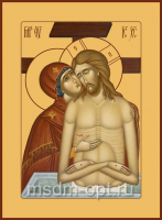 Не рыдай Мене, Мати, икона (арт.06117)