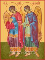 Рафаил и Уриил архангелы, икона (арт.06174)