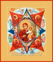 Неопалимая Купина икона Божией Матери (арт.06201)