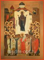 Покров Пресвятой Богородицы, икона (арт.06204)
