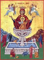 Живоносный источник икона Божией Матери (арт.06209)