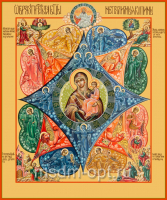 Неопалимая Купина икона Божией Матери (арт.06223)