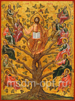 Древо Жизни, икона (арт.00623)