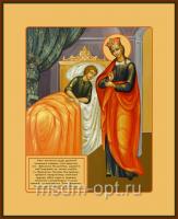 Целительница икона Божией Матери  (арт.06246)