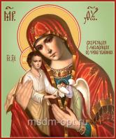 Скорбящая о младенцах, во чреве убиенных икона Божией Матери (арт.06334 с-2)