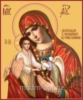 Скорбящая о младенцах, во чреве убиенных икона Божией Матери (арт.06334)