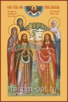 Собор Дивеевских святых, икона (арт.00634)