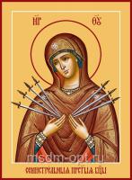 Семистрельная икона Божией Матери (арт.06372)