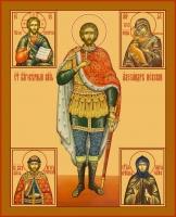 Александр Невский благоверный князь, икона (арт.06401)