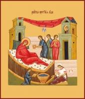 Рождество Пресвятой Богородицы, икона (арт.00640)