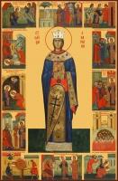 Екатерина великомученица, икона (арт.06525)