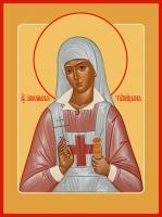 Аполлинария Тупицына мученица, икона (арт.06549)