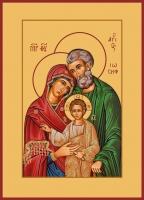 Святое Семейство, икона (арт.00657)