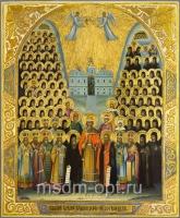 Собор киевских чудотворцев, икона (арт.00658)