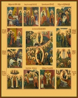 Праздники, икона (арт.06650)
