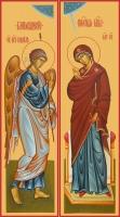 Благовещение Пресвятой Богородицы, иконы на Царские Врата (арт.06653)