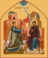 Благовещение Пресвятой Богородицы, икона (арт.06672)