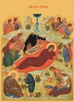 Рождество Христово, икона (арт.00668)
