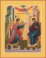 Благовещение Пресвятой Богородицы, икона (арт.06696)