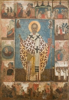 Николай чудотворец, архиепископ Мир Ликийских, святитель, икона (арт.06788)