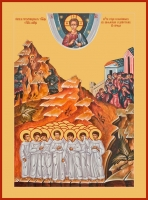 Вифлеемские младенцы мученики, икона (арт.00687)