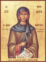 Феодора Цареградская преподобная, икона (арт.06977)